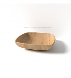 Тарелка деревянная Ds -001