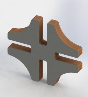 Мебельный конструктор FurKit Connector-4