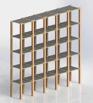 Мебельный конструктор FurKit Shelving Five