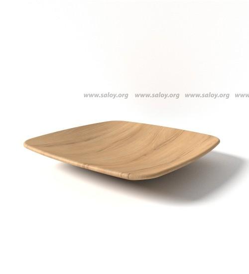 Тарелка деревянная Ds -002
