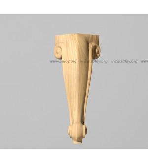 Ножка из дерева No-025