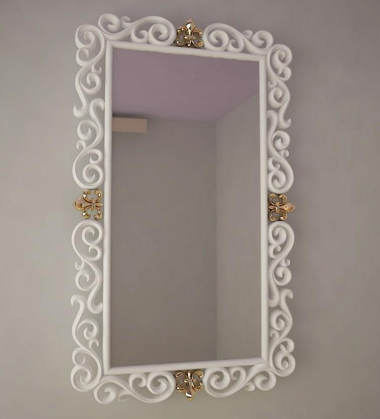 резное зеркало S-3