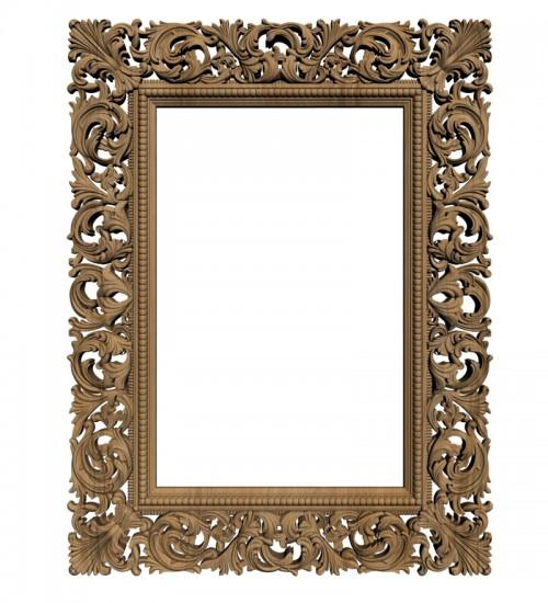 Резная рама для зеркала Rm-021