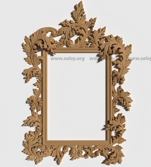 Резная рама для зеркала Rm-028