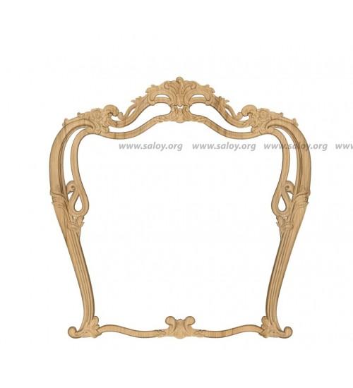 Резная рама для зеркала Rm-032