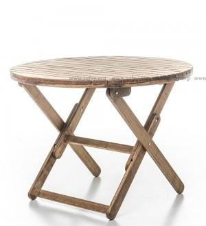 Стол садовый деревянный складной